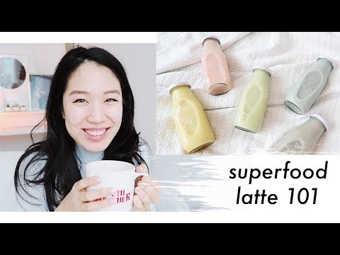 �� Superfood Lattes for Beginners: Matcha, Turmeric, Rooibos, Chai, Ginger