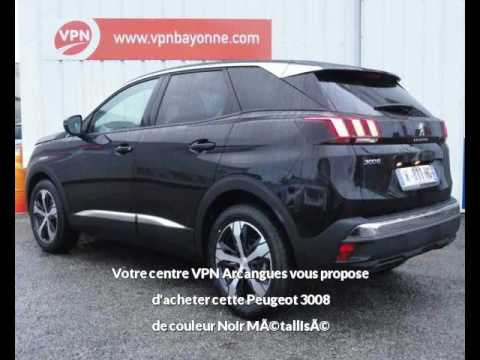 peugeot 3008 1 6 bluehdi 120ch s s bvm6 allure vendre bayonne chez vpn autos youtube. Black Bedroom Furniture Sets. Home Design Ideas