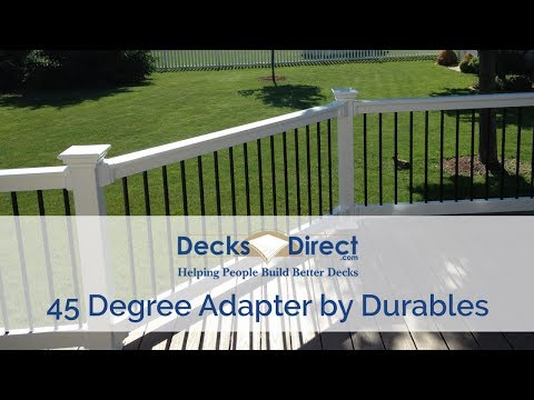 45 Degree Adapter By Durables - YouTube