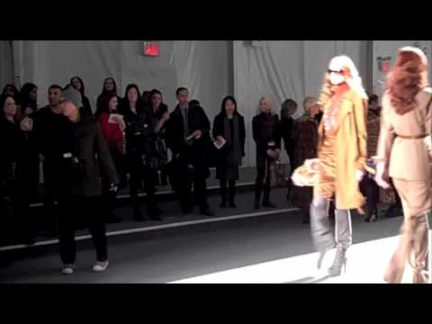 Elie Tahari: Fall 2010 Runway Presentation and Interview at New York Fashion Week