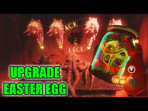 """SHADOWS OF EVIL"" UPGRADE LIL ARNIE EASTER EGG - UPGRADE EASTER EGG TUTORIAL! (Black Ops 3 Zombies)"