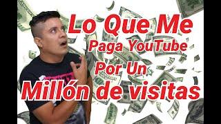 cuanto me paga youtube por cada millón de visitas 2019,cuanto paga youtube por un millón de visitas
