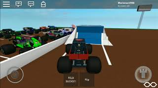 Roblox Monster Jam (culvers fairgrounds) - Freestyle North Nightmare
