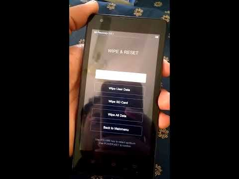 how to hard reset redmi 1s