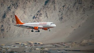 Most Dangerous Landing in India | Ladakh Airport
