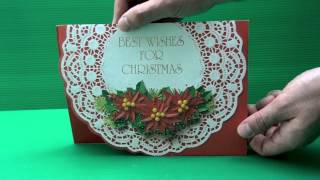 Christmas Pop Up Cards Part 1