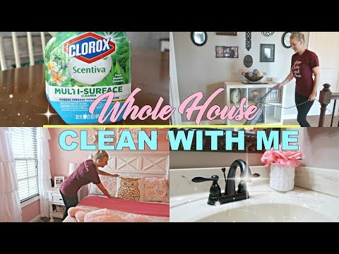CLEAN WITH ME 2018- EXTREME CLEAN WITH ME MOTIVATION