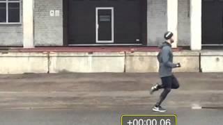 Анализ техники бега с точки зрения позного метода бега