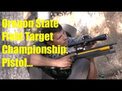 Oregon State Field Target Championship | Pistol Shoot | Ashland Oregon