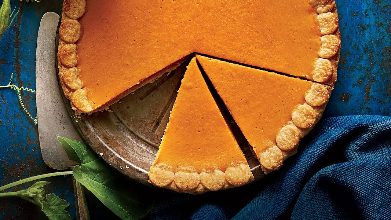 Easiest pumpkin pie ever thanksgiving recipe youtube for Southern living login