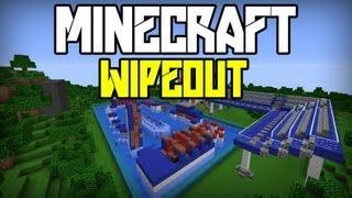 Minecraft: Wipeout - Mini game - Ścigamy się!