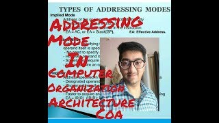 Addressing Modes in Computer organization and architecture