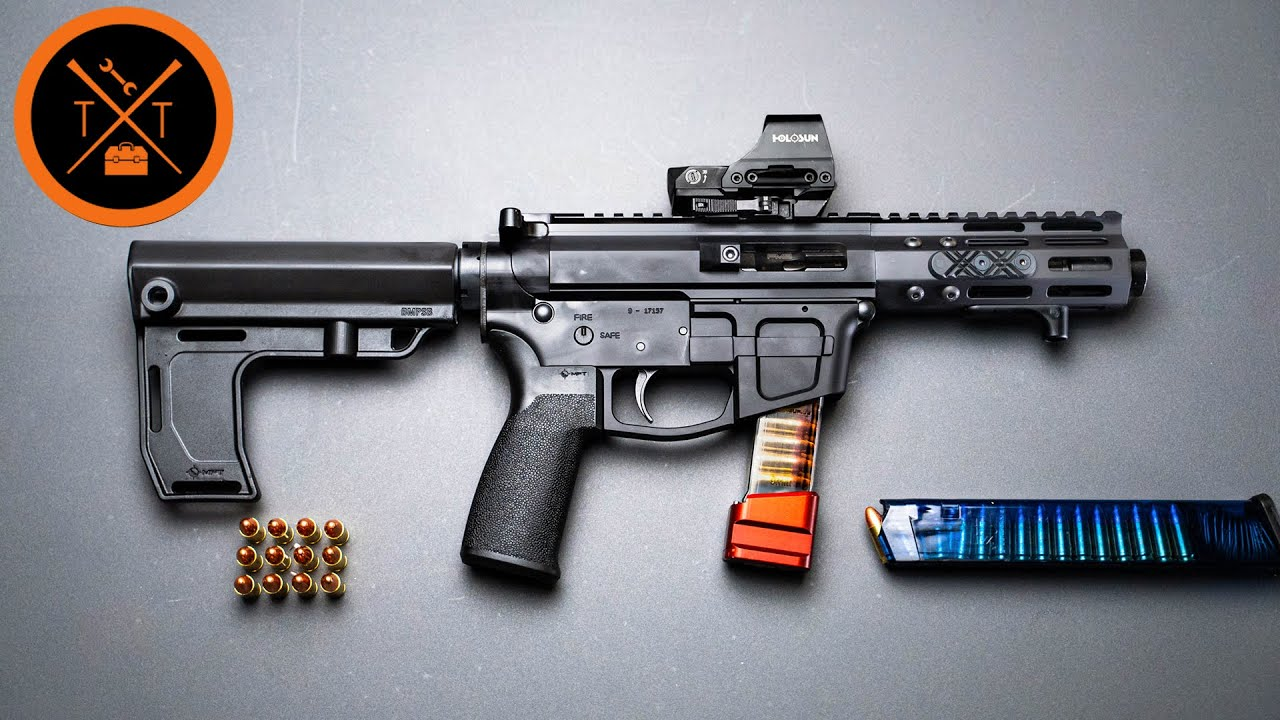 How is this 9mm AR Pistol SO CHEAP?? (Links in Description)