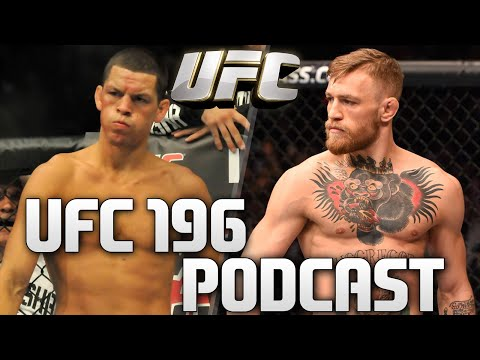 Conor McGregor vs Nate Diaz UFC 196 Live Stream Podcast Video #UFC196 MMA FIGHTWATCH Podcast