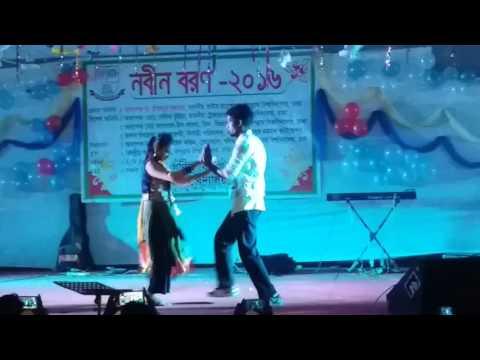Nobin Boron-2016 回 Dept. of Mathematics,Jagannath University, performed by Sunny & his partner