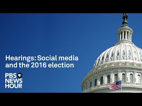 Watch: Facebook, Twitter & Google to testify in Senate Russia hearing on disinformation