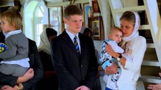 Съемка крещения в Церкви Покрова Пресвятой Богородицы