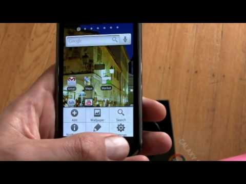 Samsung Galaxy S Unboxing and Hands-On