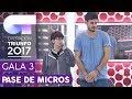 COMPLICIDAD Marina Y Cepeda Primer Pase De Micros Gala 3 OT 2017 mp3