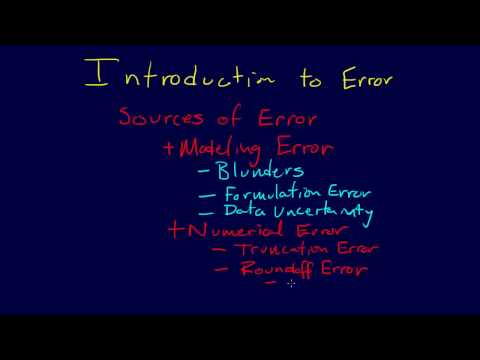 1.1.5-Introduction: Error Analysis