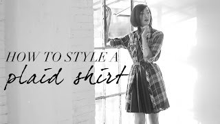 How To Style A Plaid Shirt Thumbnail