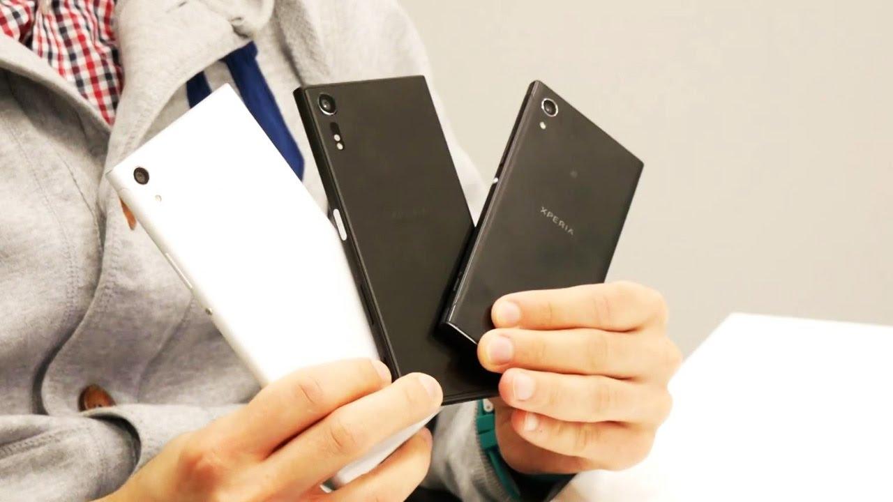 Длинный-длинный обзор Sony XZs, XA1 и XA1 Ultra