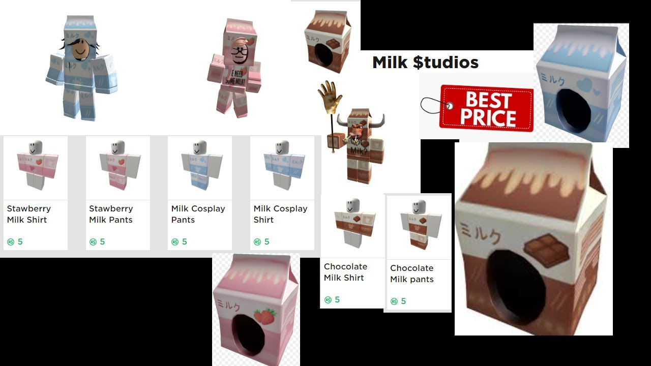 Roblox Milk Hat Outfit Cheap Youtube