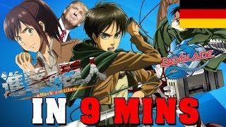 Attack on Titan IN 9 MINUTEN Anime in Minuten