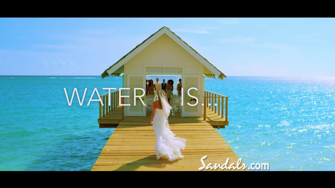 Sandals Resorts Quot Inspired By Water Created By Sandals