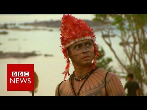 Clash of cultures over Amazon dams - BBC News