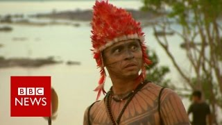 Clash of cultures over Amazon dams   BBC News