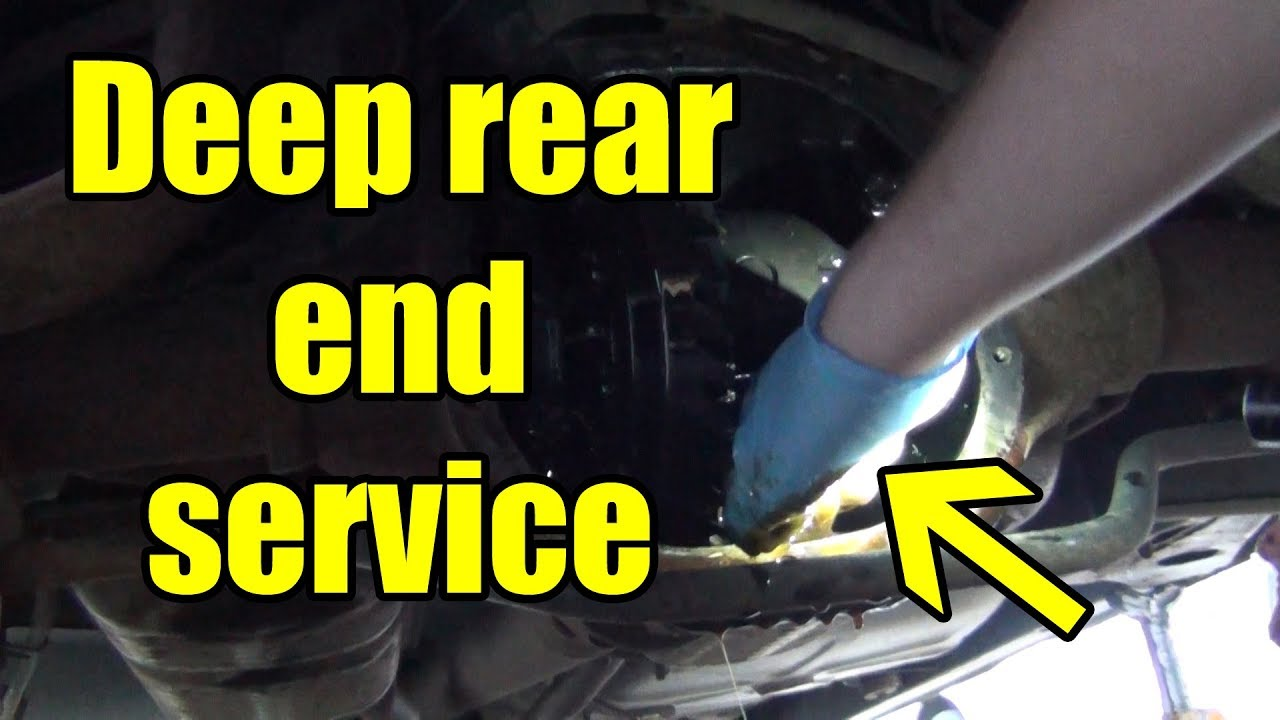 Rear End Service Going In Deep Lincoln Town Car Project Youtube