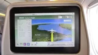 Emirates EK 337 Economy Manila to Dubai with NEW IFE equipement! (A6-ENF)