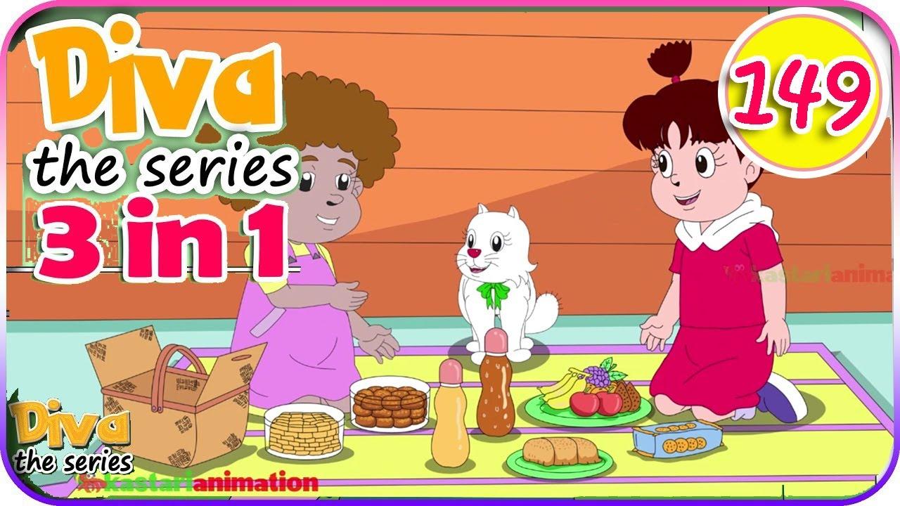 Seri Diva 3 in 1 | Kompilasi 3 Episode ~ Bagian 149 | Diva The Series Official