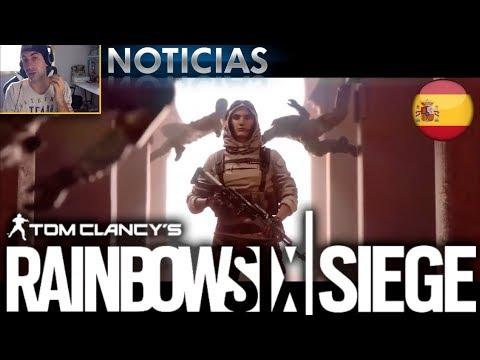 Rainbow Six Siege: VIDEO REACCION TRAILER NOMAD  AGENTE MARROQUI