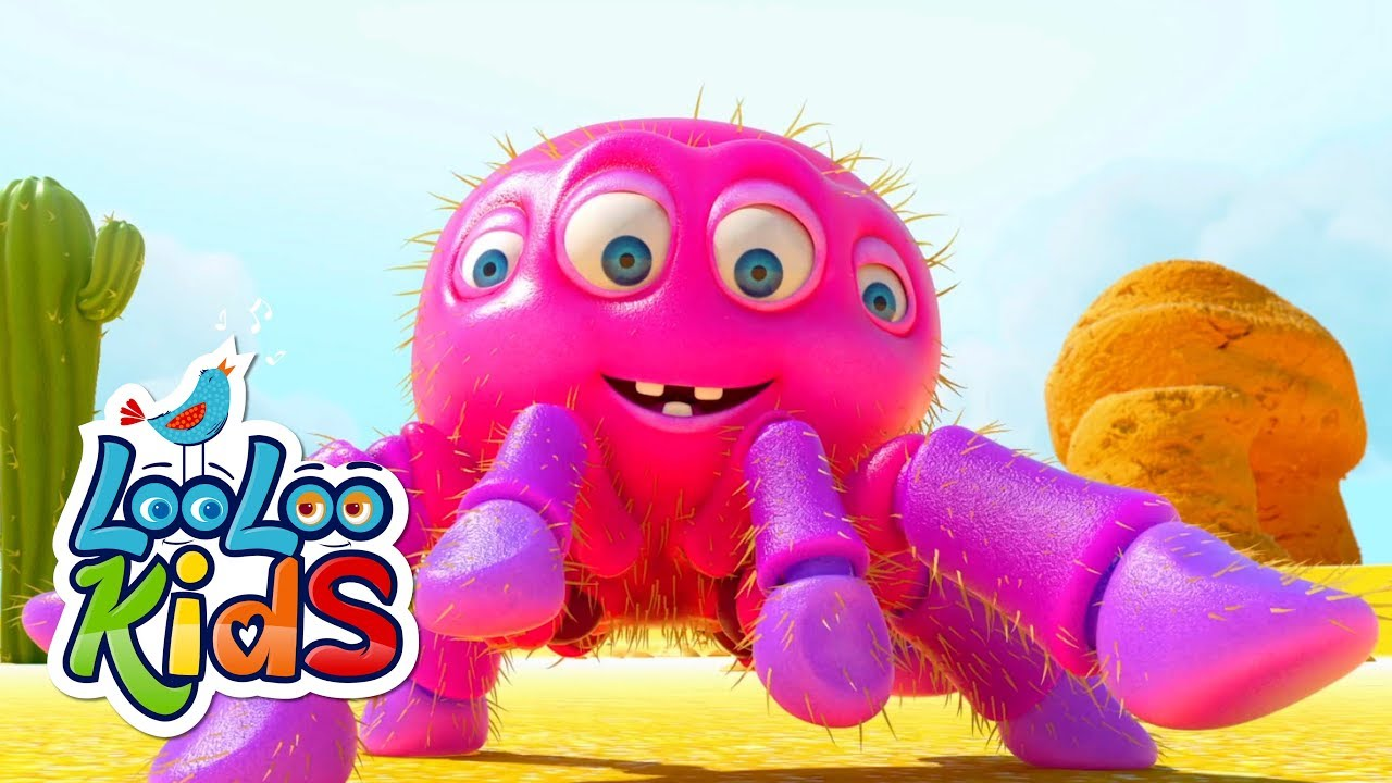 Itsy Bitsy Spider - Cute Songs for Children | LooLoo Kids