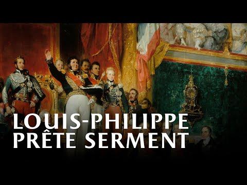 Vidéo Louis-Philippe prête serment devant les Chambres
