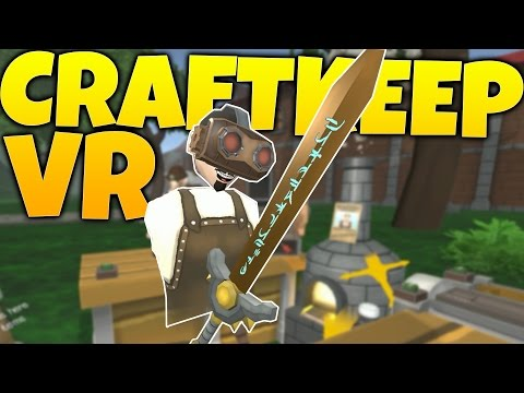 Craftkeep VR - Enchanting Weapons & Glitchy Customers! - Craftkeep VR Gameplay Highlights