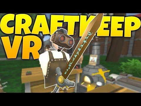 Craftkeep VR - Enchanting Weapons & Glitchy Customers! - Craftkeep VR Gameplay Highlights