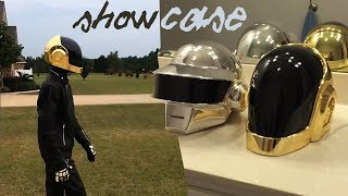 Daft Punk Helmet and Gloves Cosplay Showcase by Artyom Props