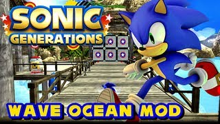Sonic Generations PC - Wave Ocean Level Mod