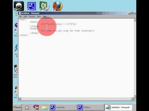 Hướng dẫn thiết kế web html - p1