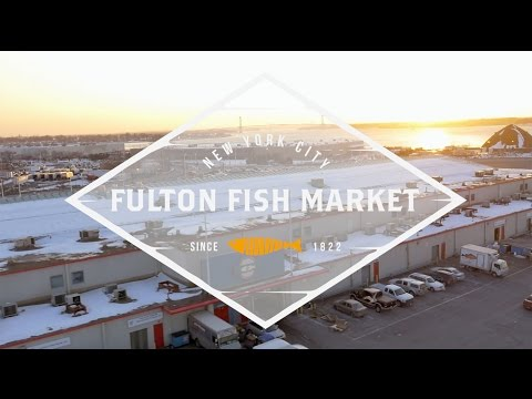 Fulton Fish Market In Action | Fulton Fish Market