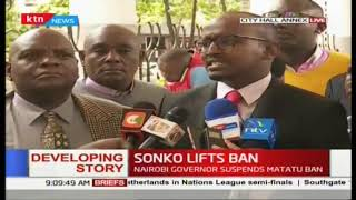 Association of Matatu Operators sit down with Sonko about way forward