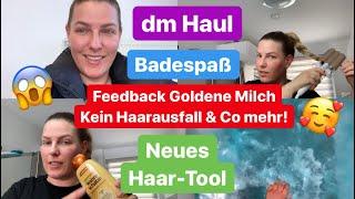 Nach EINER Woche KEIN Haarausfall & Co mehr! l dm Haul l Neues Haar-Tool l Badebombe für Lias