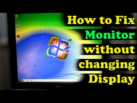 How To Repair Monitor Color