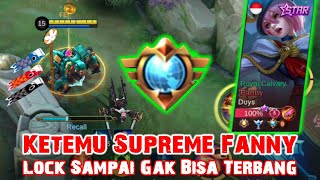 Supreme Fanny Gak Bisa Terbang di Counter Jawhead Addict | Mobile Legends Gameplay
