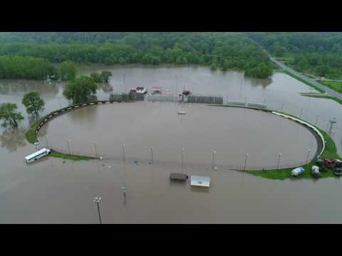 Peoria Speedway flood