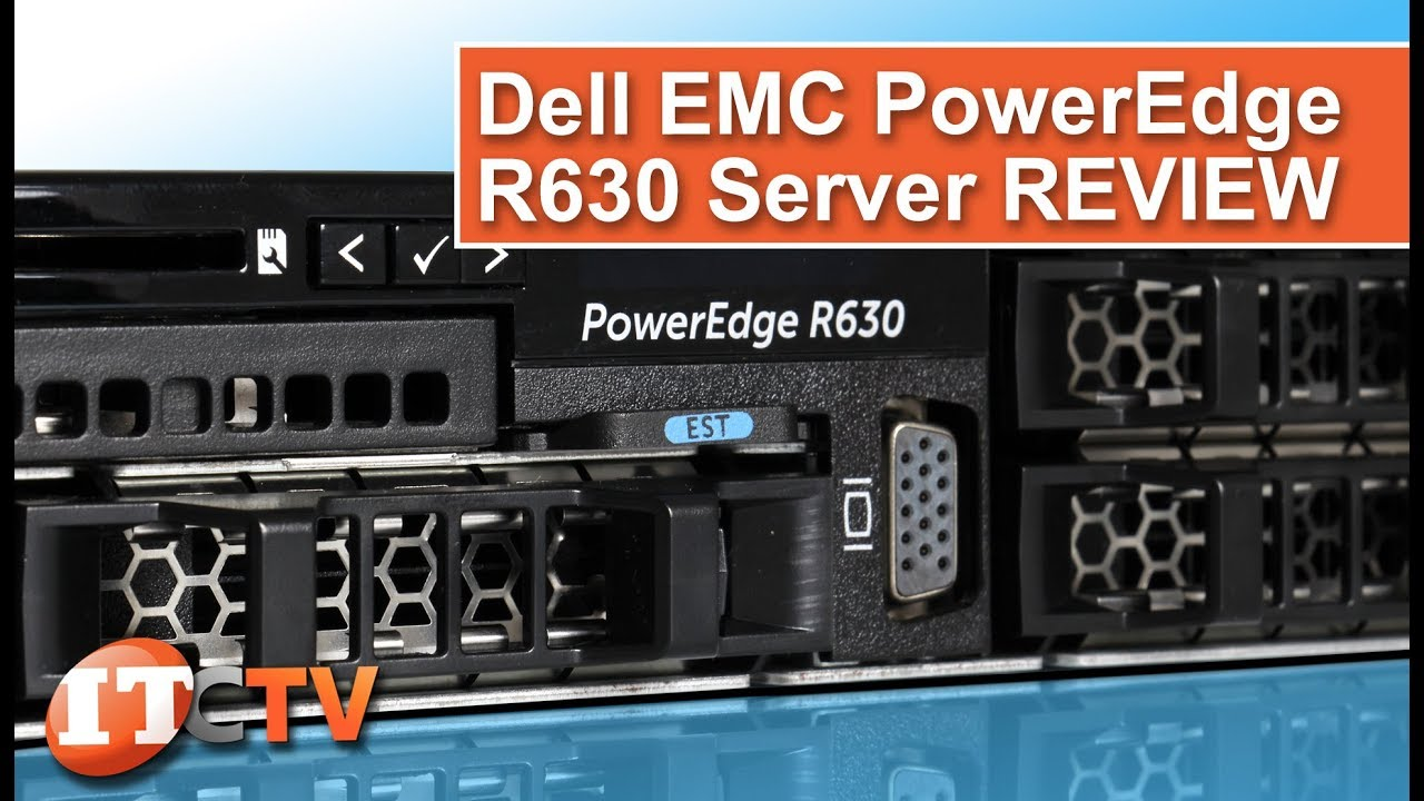 Dell PowerEdge R630 13G Review - YouTube
