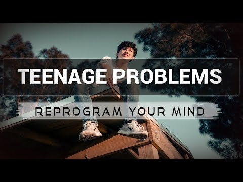 Teenage Problems affirmations mp3 music audio - Law of attraction - Hypnosis - Subliminal